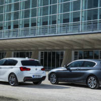 The 2015 BMW 1-Series facelift flexes its muscles