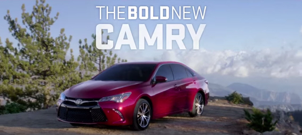 Toyota Camry Super Bowl XLIX commercial