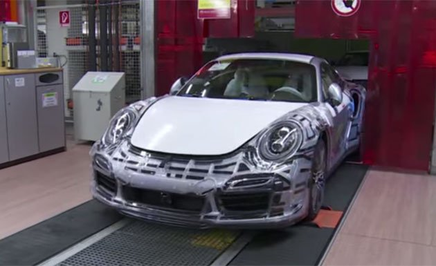 Porsche 911 GT3 test facility video introduced