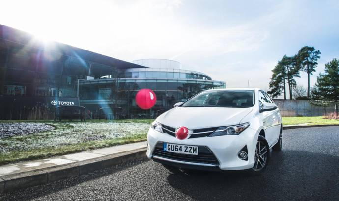 Toyota RND Concept introduces red-noses for charity