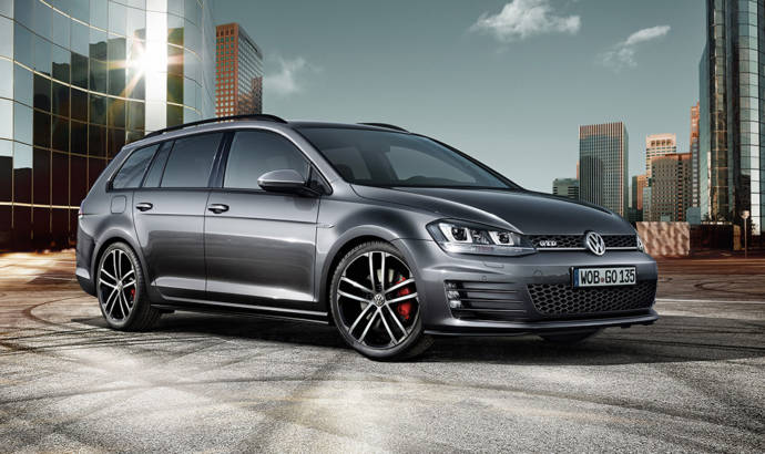 Volkswagen Golf GTD Variant officially introduced