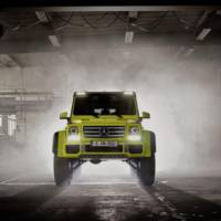 2015 Mercedes G500 4x4 Concept introduced