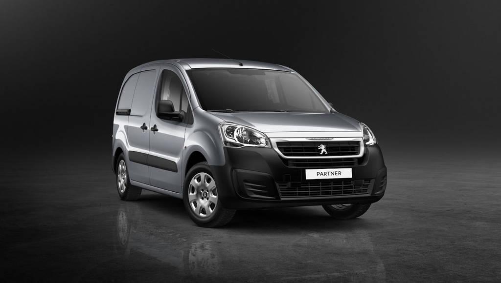 2015 Peugeot Partner Van introduced