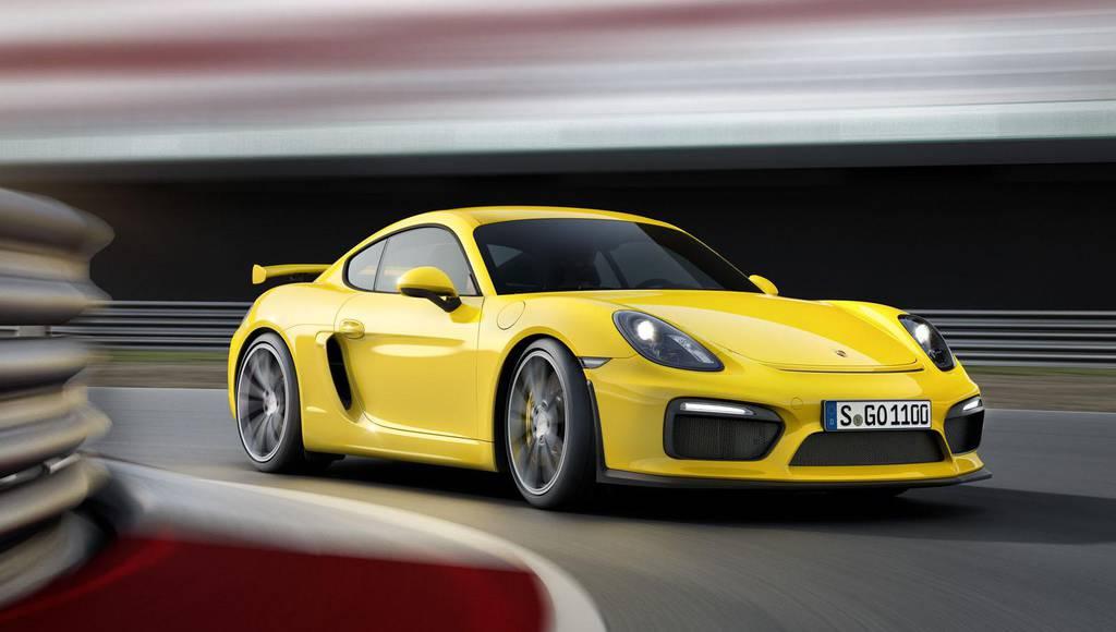 2015 Porsche Cayman GT4 unveiled