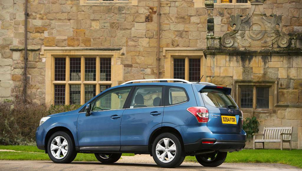 2015 Subaru Forester introduced in the UK