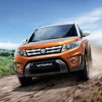 2015 Suzuki Vitara UK prices announced