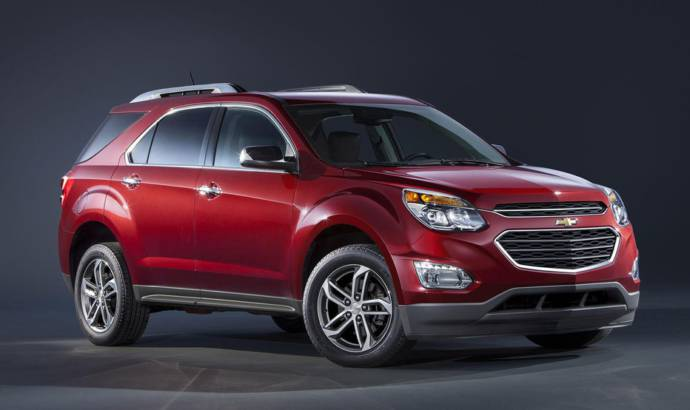 2016 Chevrolet Equinox introduced