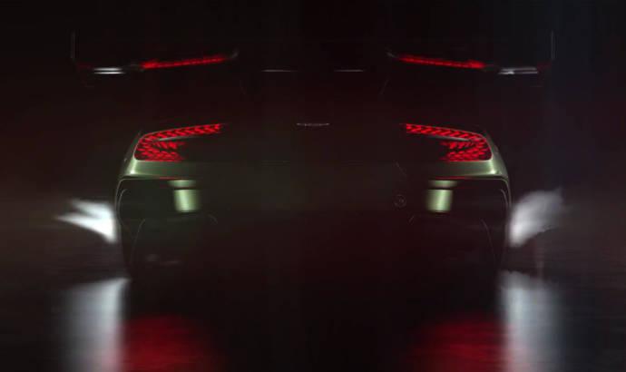 Aston Martin Vulcan teaser video