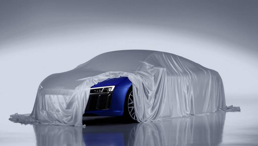 Audi R8 - First official teaser picture