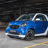 Carlsson Smart Fortwo tuning package introduced