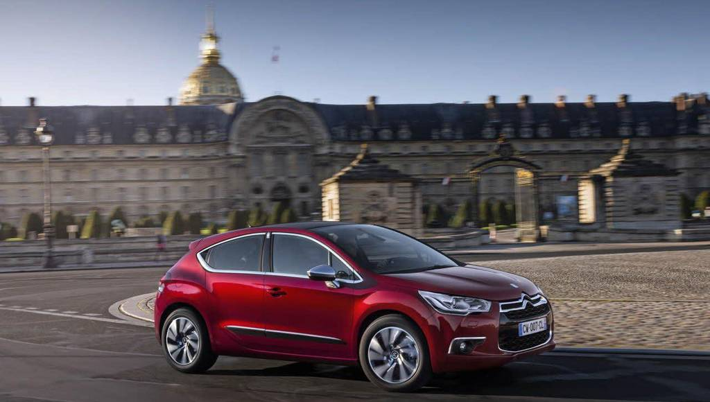 Citroen DS4 receives new engines