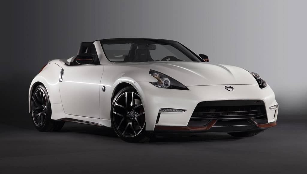 Nissan 370Z Nismo Roadster Concept unveiled in Chicago