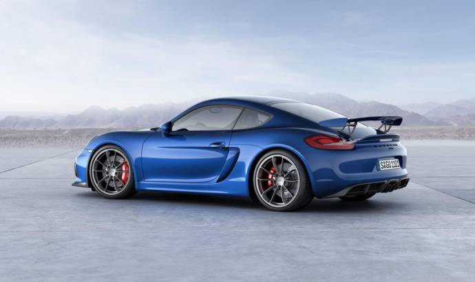 Porsche Cayman GT4 is the ultimate scary machine