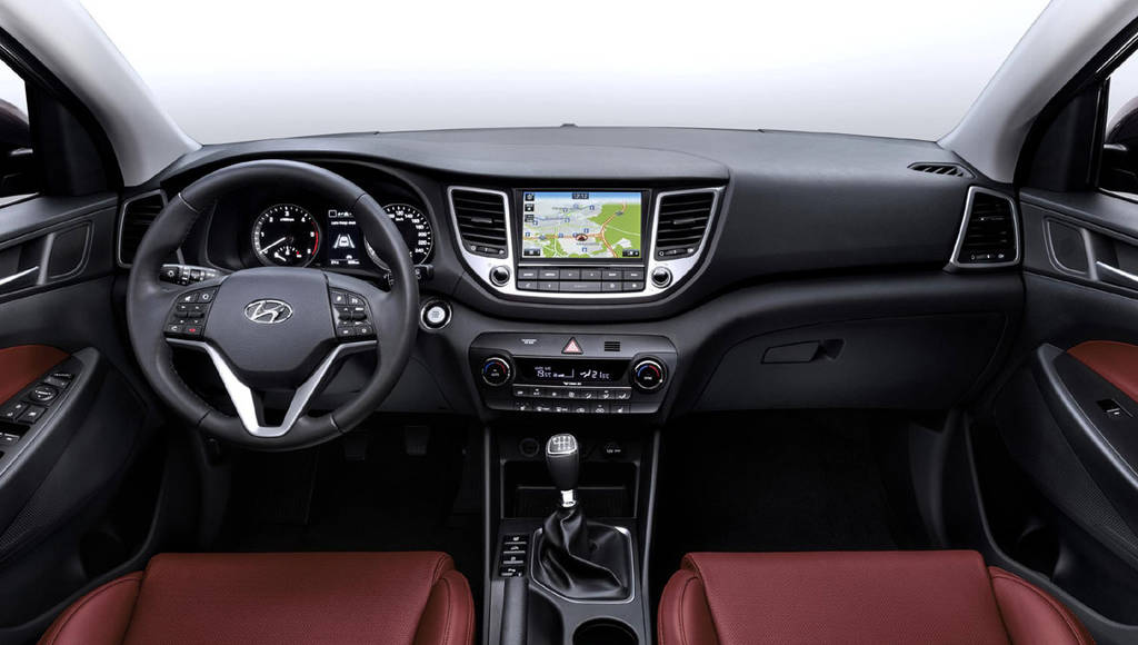 2015 Hyundai Tucson official images and details