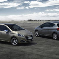 2015 Peugeot 208 facelift gets new textured colours