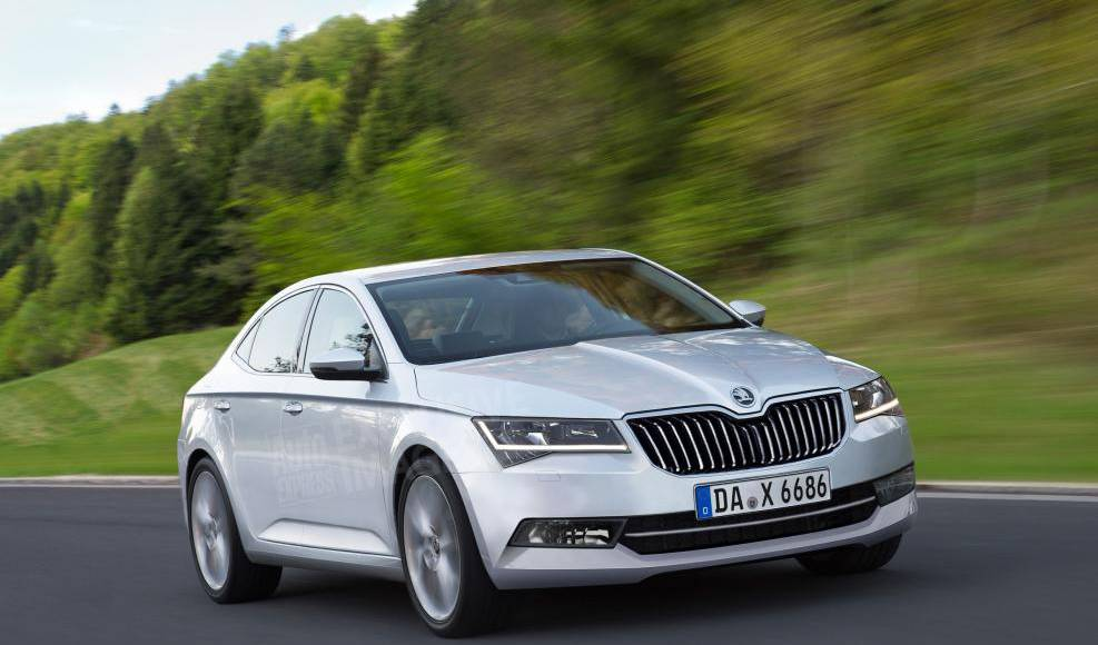 2015 Skoda Superb launched in UK