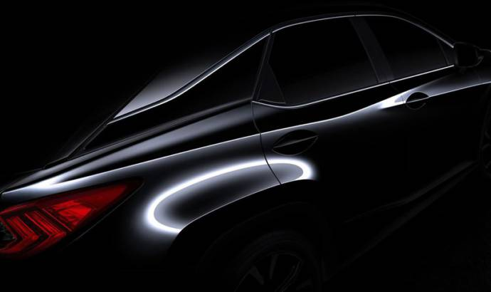 2016 Lexus RX will be unveiled in New York