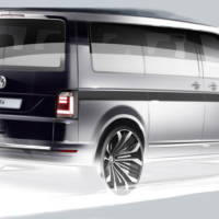 2016 Volkswagen Transporter T6 first sketch