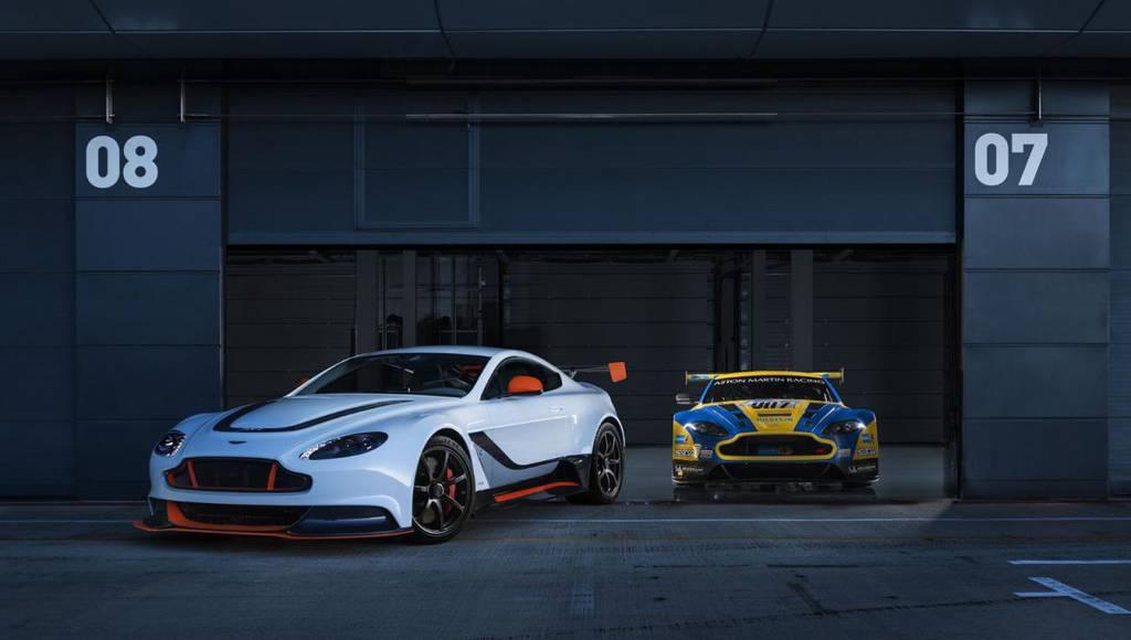 Aston Martin Vantage GT3 video debut