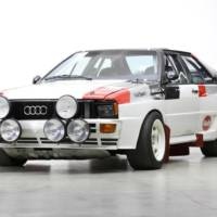 Audi Quattro A1 Group B rally car will go to auction