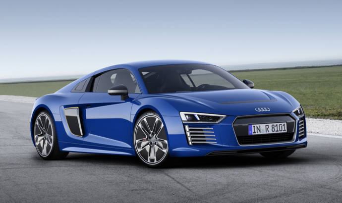 Audi R8 e-tron performance figures and details