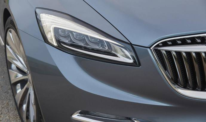 Buick Avenir LED headlights detailed