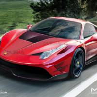 Ferrari 458 Italia modified by Misha Designs