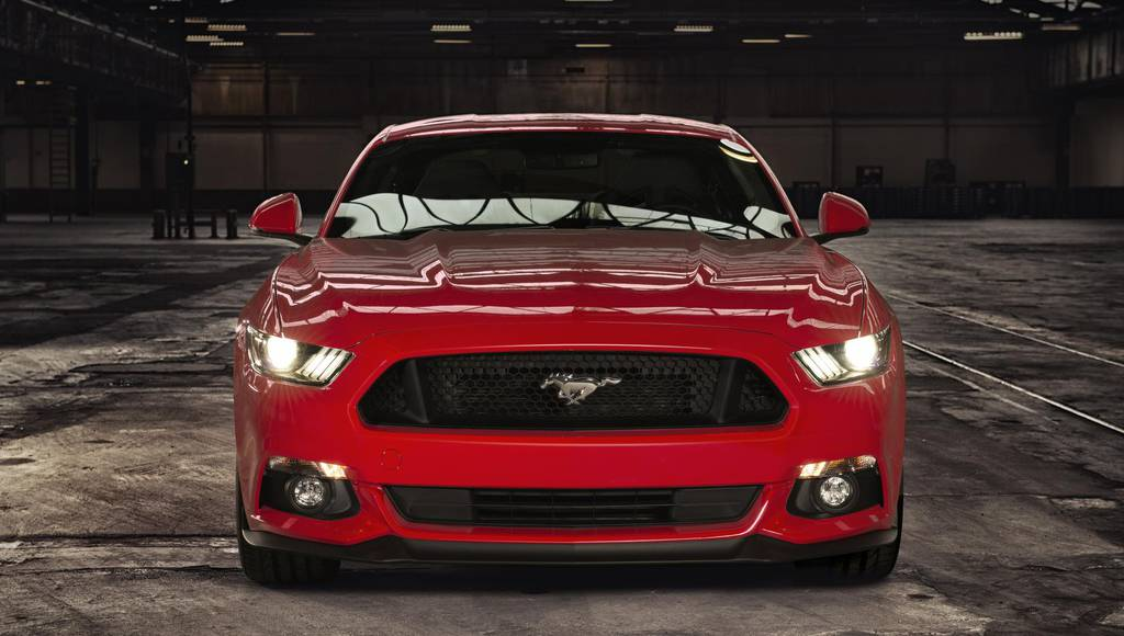 Ford Mustang configured by 500.000 people