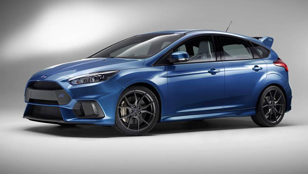 Ford Spain says the new Focus RS has 350 HP