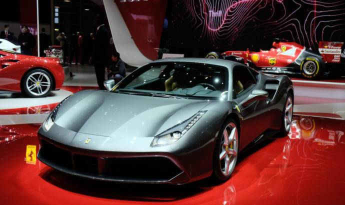 Geneva 2015 - Ferrari 488 GTB flexes its muscles in Switzerland