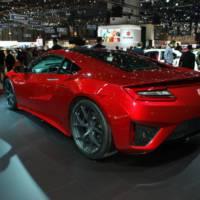 Geneva 2015 - Honda NSX is here to impress