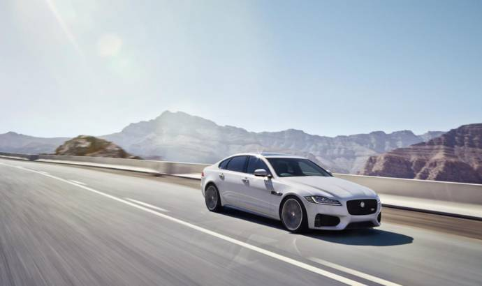 Jaguar XF - Official pictures and details
