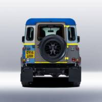 Land Rover Defender by fashion designer Paul Smith
