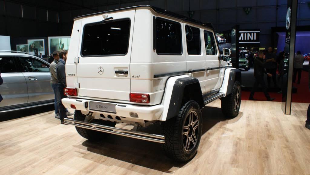Mercedes-Benz G500 4x4 Concept revealed in Geneva