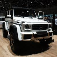 Mercedes-Benz G500 4x4 Concept revealed in Geneva