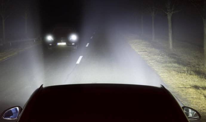 Opel is developing headlights that will be able to shine where you look