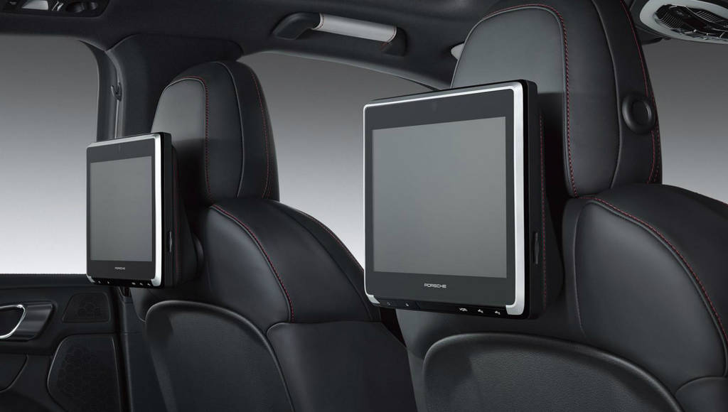 Porsche Exclusive introduces Rear Seat Entertainment for Macan, Panamera and Cayenne