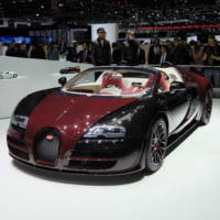 The first and the last Bugatti Veyron have shared the same stage in Geneva