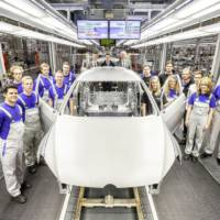 Volkswagen apprentices prepare a GTI concept for Worthersee
