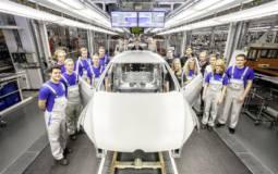 Volkswagen apprentices prepare a GTI concept for Worthersee