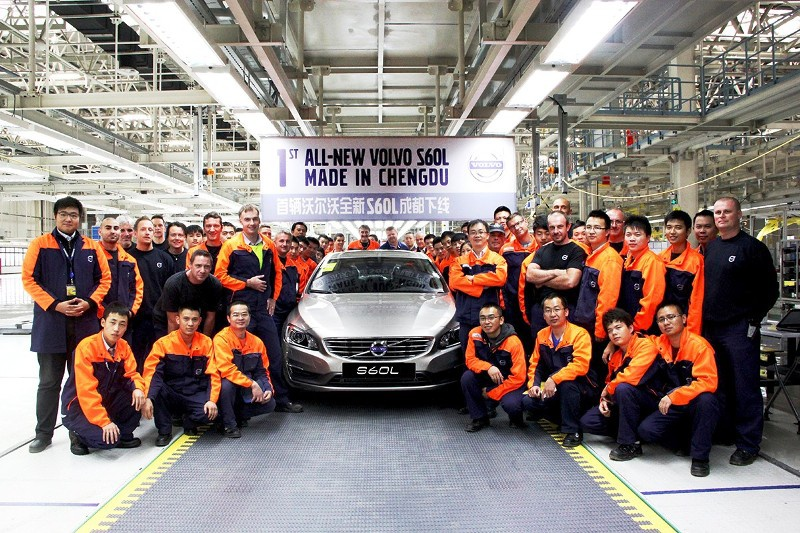 Volvo US plant officially announced