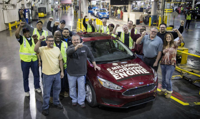 Ford celebrates its 5-millionth Ecoboost-equipped car