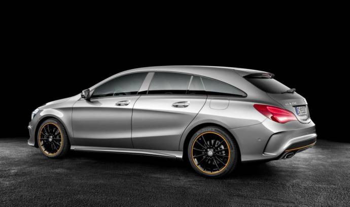 Mercedes CLA Shooting Brake first commercial