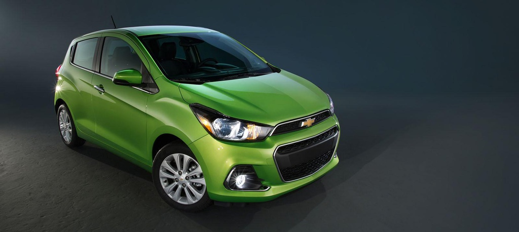 2016 Chevrolet Spark unveiled in New York Auto Show