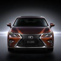 2016 Lexus ES facelift unveiled