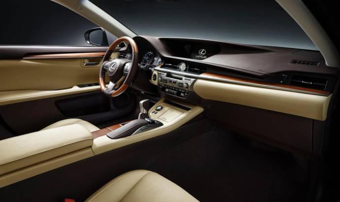 2016 Lexus ES facelift unveiled