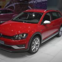 2017 Volkswagen Golf SportWagen Alltrack announced