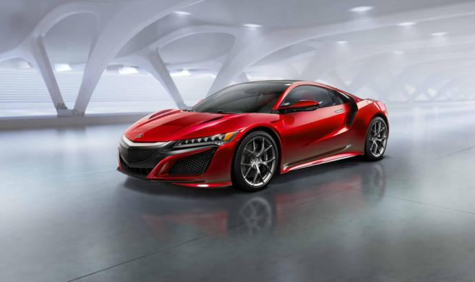 Acura NSX new details