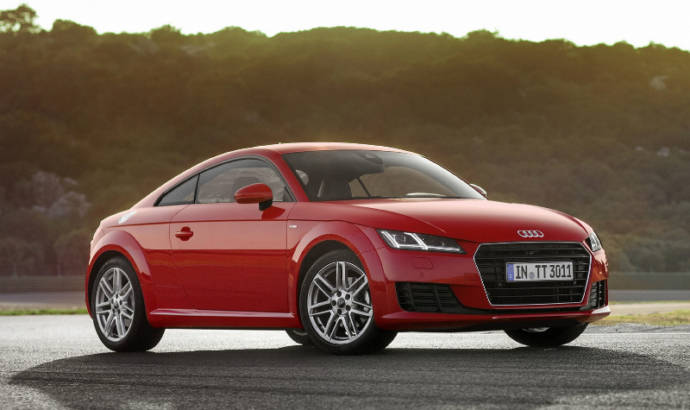 Audi TT Coupe and Roadster receive 1.8 TFSI