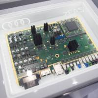 Audi zFAS control center for future self-driving cars detailed
